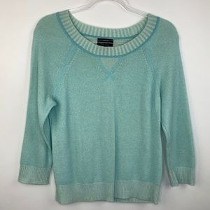 J.CREW Collection • 100% Cashmere Plaited Sweater